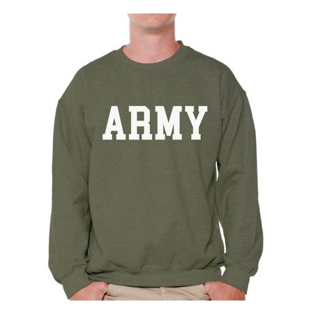 Soft Crewneck Jumper - Awkward Styles Army Sweatshirt Army Pullover Sweater Army Men's Crewneck Military Gifts Army Adult Crewneck Army Homecoming Suprise Party Sweatshirt Army Training Sweater Military Adult Jumper