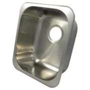 14 in. Universal Mount Single Bowl Kitchen Sink