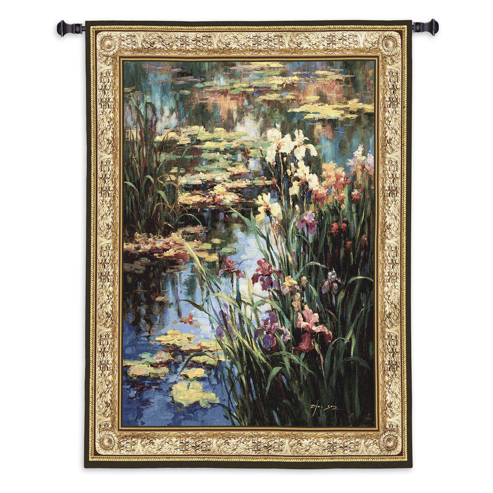 Fine Art Tapestries Summer Lily Wall Tapestry by Overstock