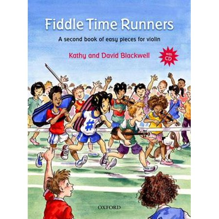 Fiddle Time Runners + CD: A second book of easy pieces for violin (Sheet music)