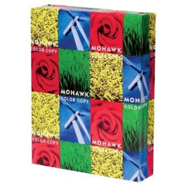 Mohawk 12203 Color Copy Paper, 98 Brightness, 28lb, 8.5 x 11, Bright White, 500 Sheets-Ream