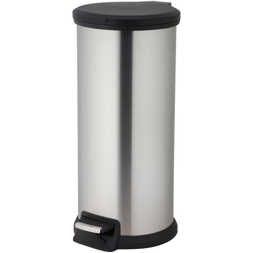Better Homes And Gardens 40 Liter Round Step Trash Can
