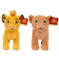 Lion King Plush Simba & Nala - 2 Pack Bundle