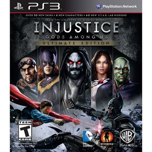 Injustice: Gods Among Us Ultimate Edition, WHV Games, PlayStation 3, 883929323326 by WHV Games