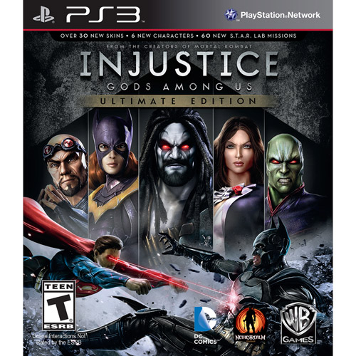 Injustice: Gods Among Us Ultimate Edition, WHV Games, PlayStation 3, 883929323326