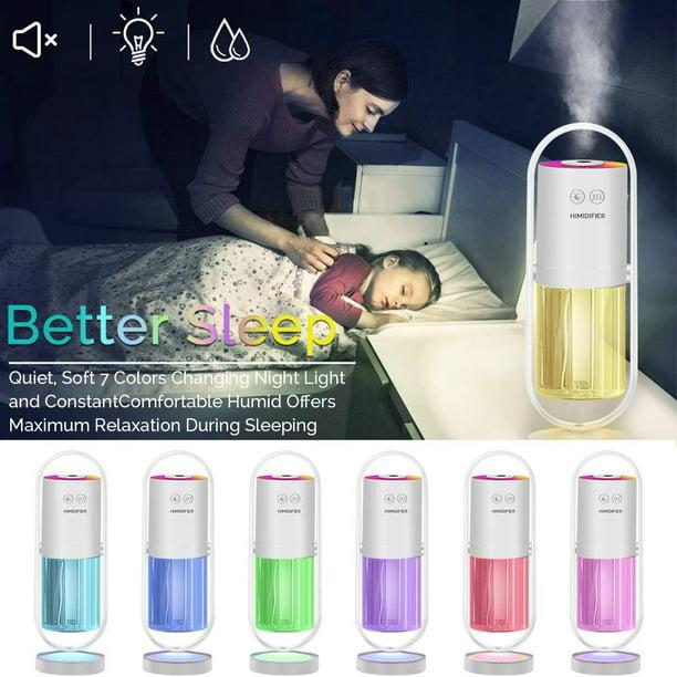 portable mini humidifier 200ml ultrasonic cool mist