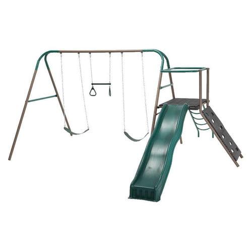 Lifetime Climb and Slide Play Swing Set