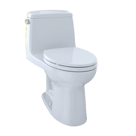 TOTO® Eco UltraMax® One-Piece Elongated 1.28 GPF Toilet, Cotton White - MS854114E#01