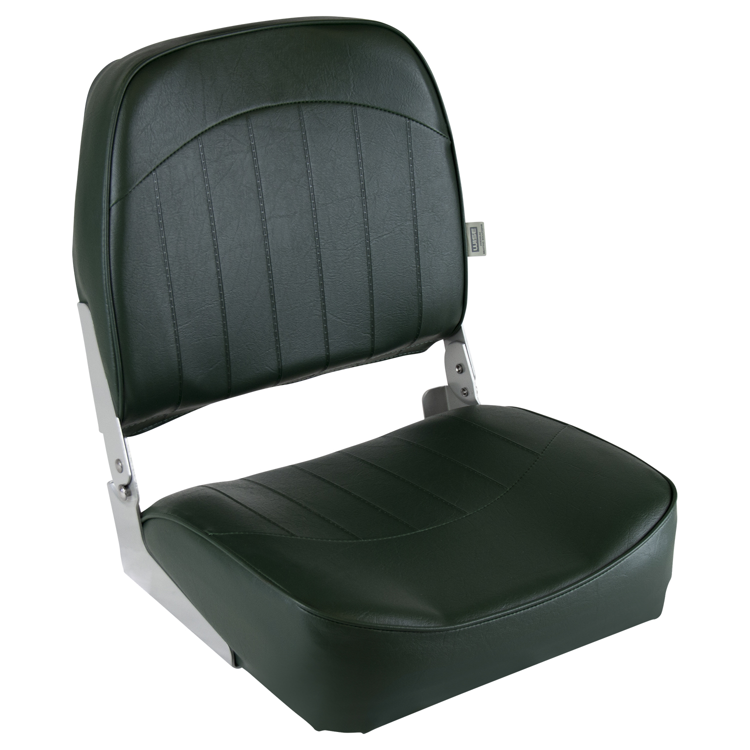 Wise 8WD734PLS-716 Low Back Boat Seat, Brown