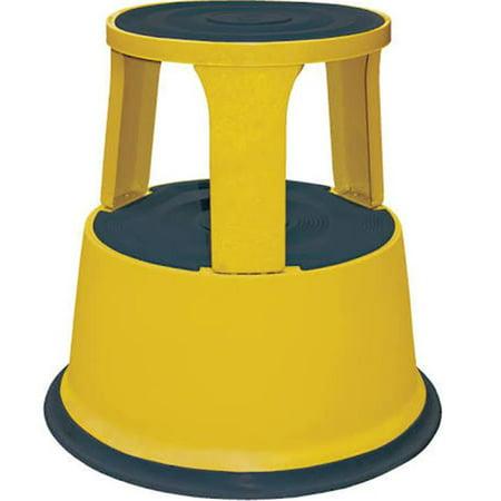 Vestil Step 17 Y 17 In Yellow Rolling Step Stool