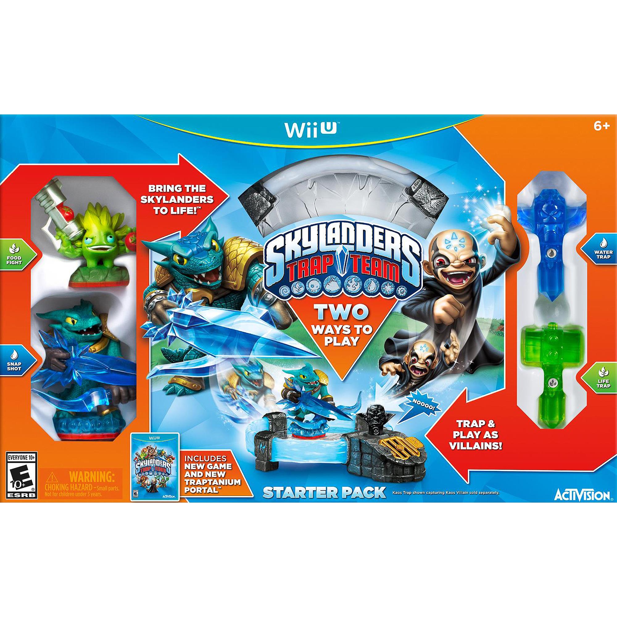 Skylanders Trap Team Starter Kit (Wii U)