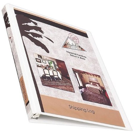 Avery Economy View Binder With Round Rings   5 Inch  White