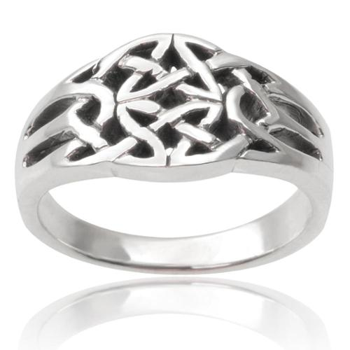 Journee Collection Sterling Silver Ring 8, Silver