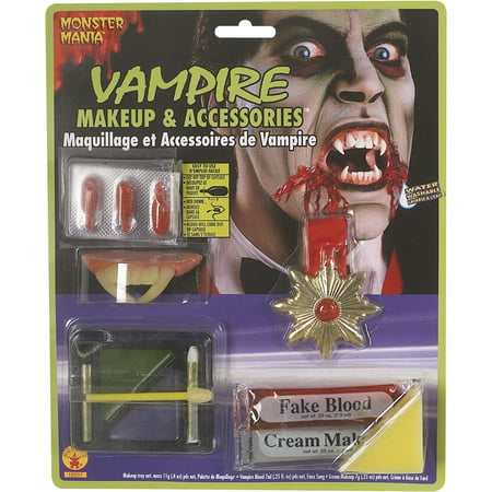 Vampire Makeup And Accessories - Makeup For A Vampire