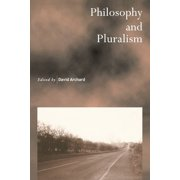 Philosophy and Pluralism