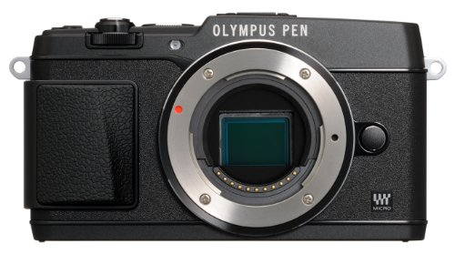 Olympus E-P5 Black body 16 .1MP Compact System Camera with 3-Inch LCD- Body Only (Black) by Olympus