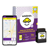 Autobrain OBD Real-Time GPS Tracker, 3 Months Data Service Included