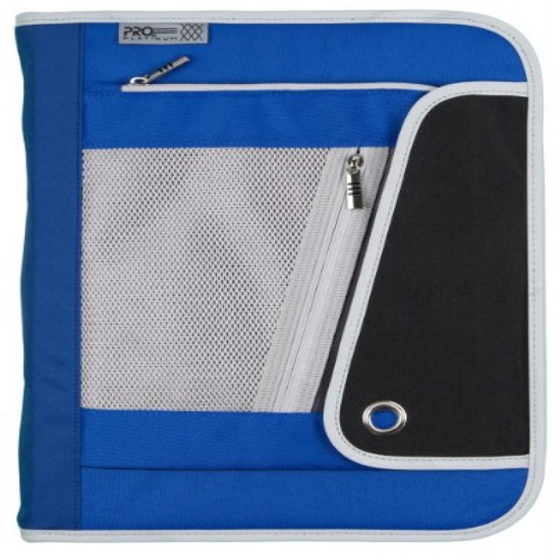 Mead PRO Platinum Heavy-Duty 3-Ring Zipper Binder, 1.5 In...