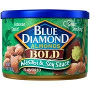 Blue Diamond Bold Wasabi & Soy Sauce Almonds, 6 oz