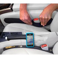 Drop Stop Automotive Car Seat Gap Filler, (As Seen on TV, Shark Tank - 1 Unit )