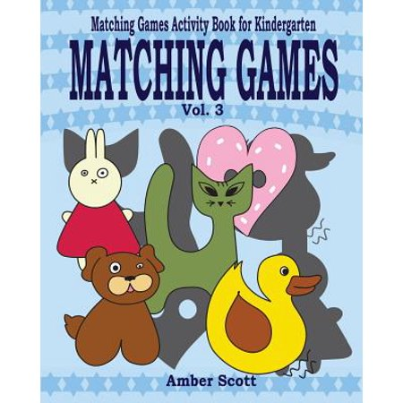 Matching Games ( Matching Games Activity Book for Kindergarten) - Vol. 3](Halloween Pattern Activities For Kindergarten)