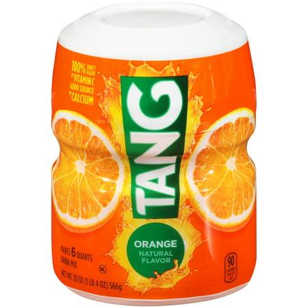 Tang Orange Drink Mix 20 oz. Jar - Halloween Alcoholic Drink Mixes