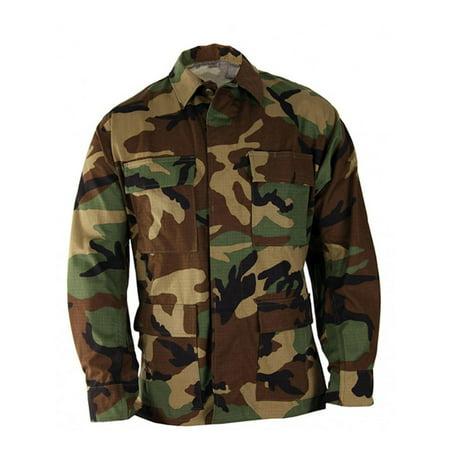 Propper  Uniform Bdu Coat - Khaki Bdu Jacket
