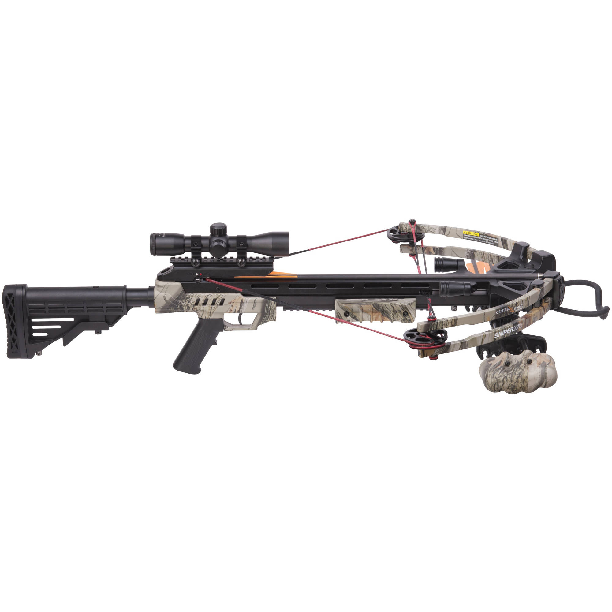CenterPoint Archery AXCS185BK Compound Crossbow Kit 370fps by Crosman