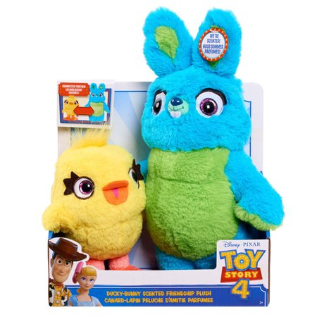 toy story 4 ducky bunny friendship plush by just play ages 5 10 years