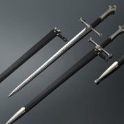 Professional The Lord Of The Rings Anduril Sword Of King Replica Aragorn