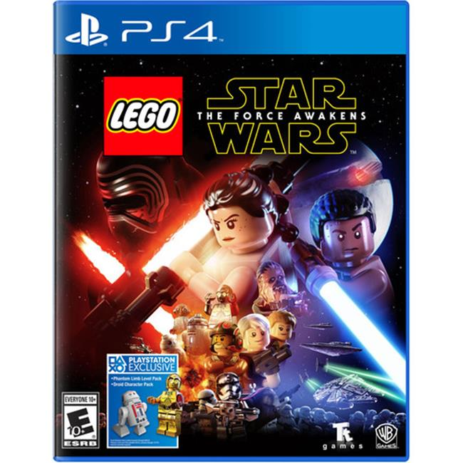 Warner Brothers 1000591527 PS4 Lego Star Wars for the Force Awakens Active Play