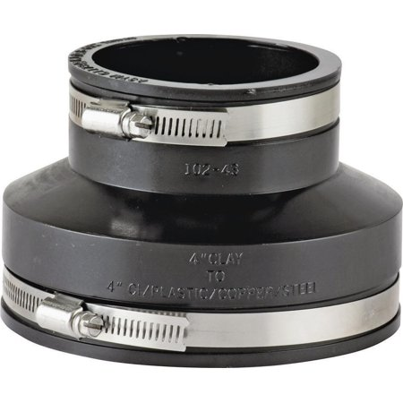 ProSource Flexible Pipe Coupling 4 X 4 In