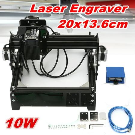 10W CNC Desktop Laser Engraver Engraving Machine For Metal Iron Stone Wood Printer Cutter DIY - Word Stones