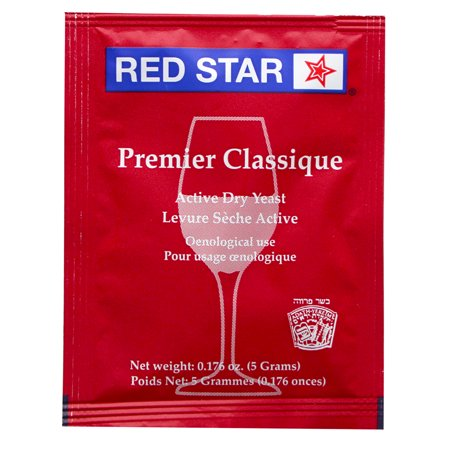 Red Star Premier Classique formerly Montrachet Yeast For Wine Making