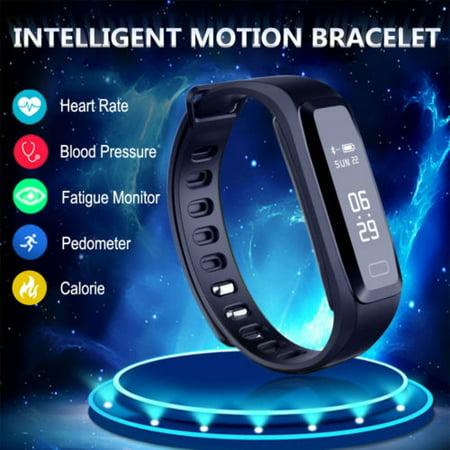 2019 Smart Watch Bluetooth Bracelet Heart Rate Fitness Activity Tracker
