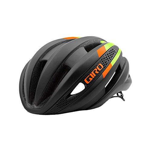 Giro Synthe Helmet Matte Black/Lime/Flame, M