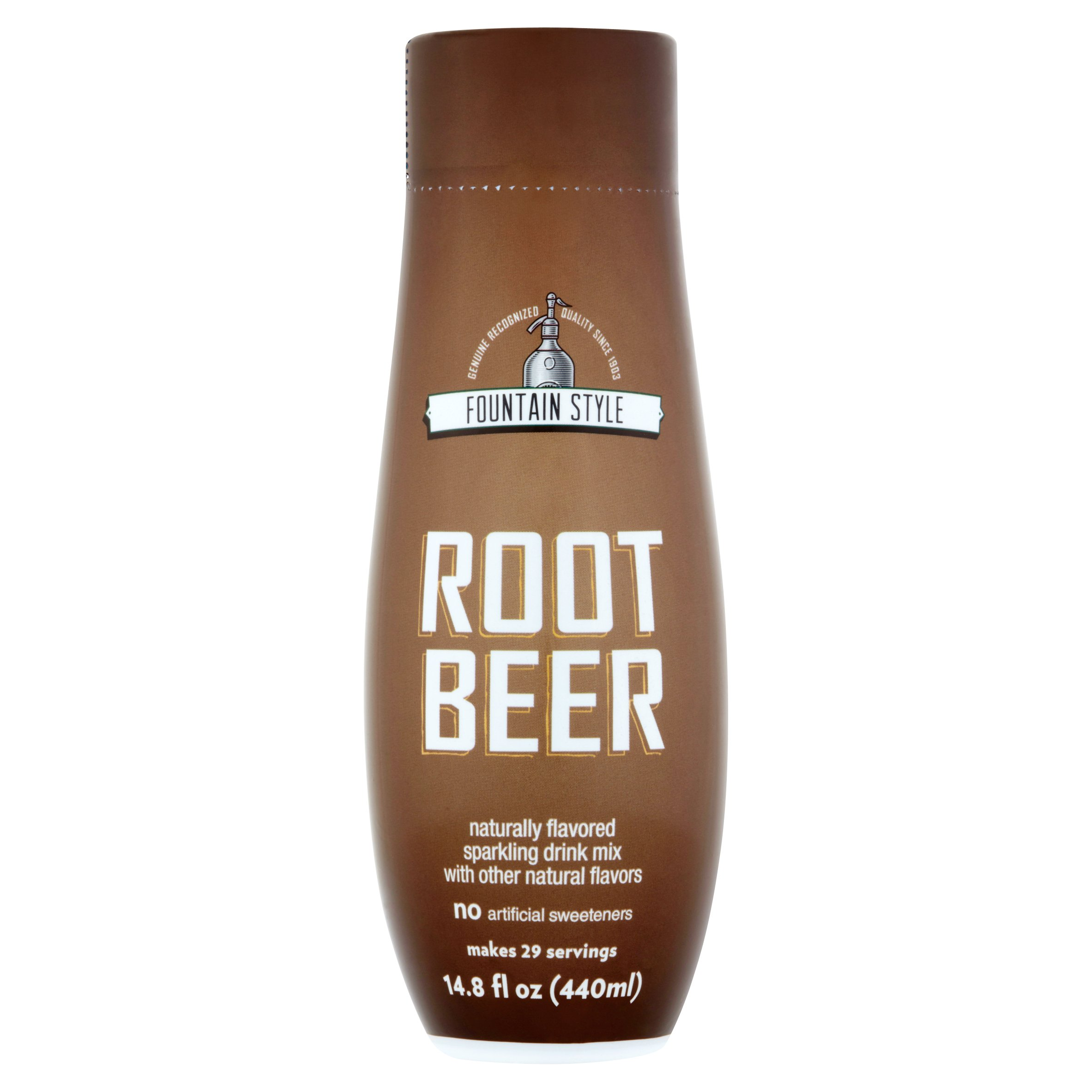 SodaStream Fountain Style Root Beer Sparkling Drink Mix, 440ml