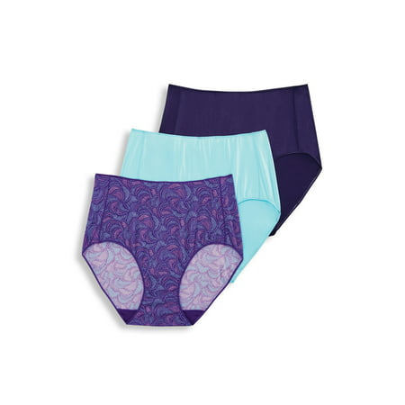 Women's No Panty Line Hip Brief Panties - 3 Pack