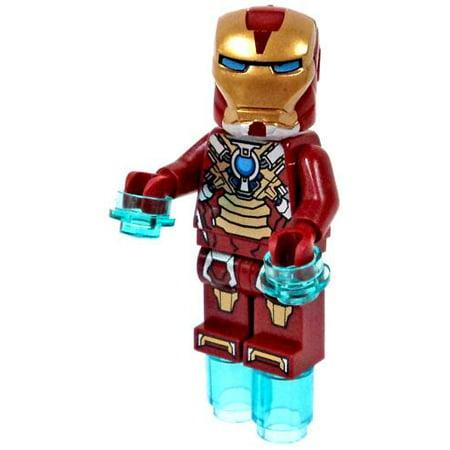 LEGO Marvel Super Heroes Iron Man Mark XVII Minifigure ...