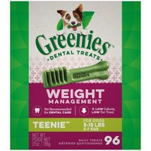 Dog Treats: Greenies Weight Management Teenie