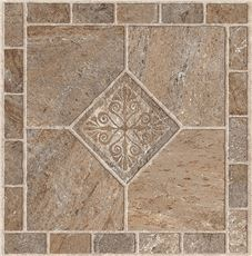 ARMSTRONG PEEL N' STICK TILE 12 IN. X 12 IN. MULTICOLOR BRONZE 1.14MM (0.045 IN.) / 45 SQ. FT. PER C