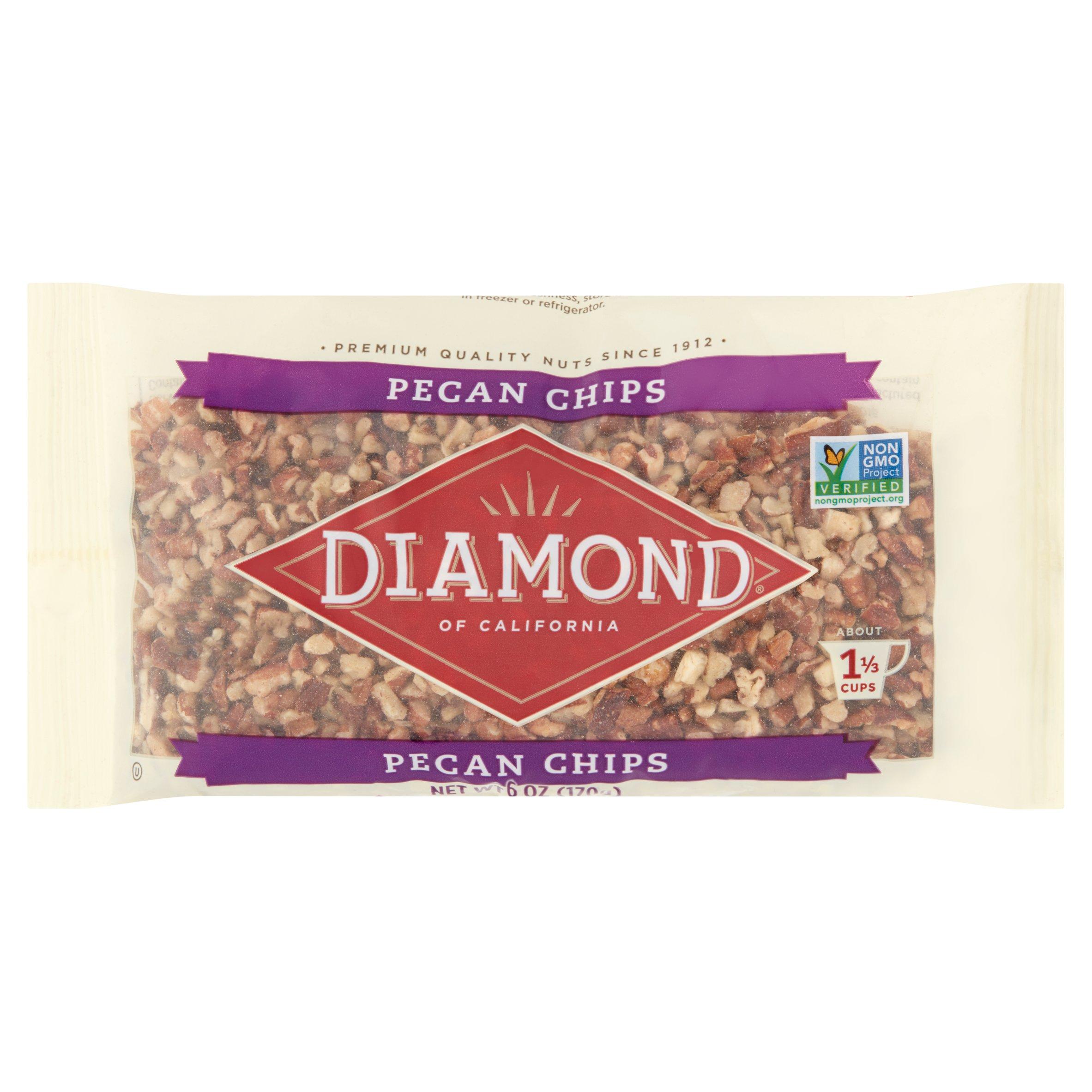 Diamond Pecan Chips, 6.0 OZ by Diamond Foods Inc.