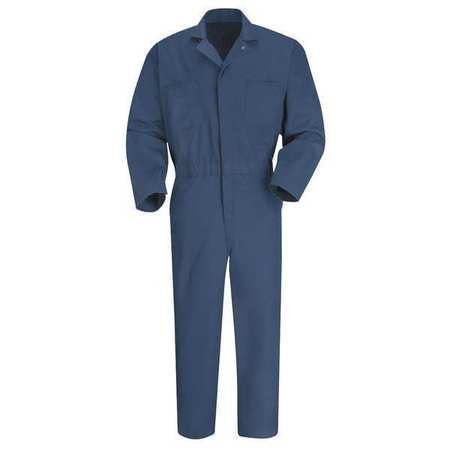 VF IMAGEWEAR CT10NV 54 RG Coverall, Chest 54In., Navy