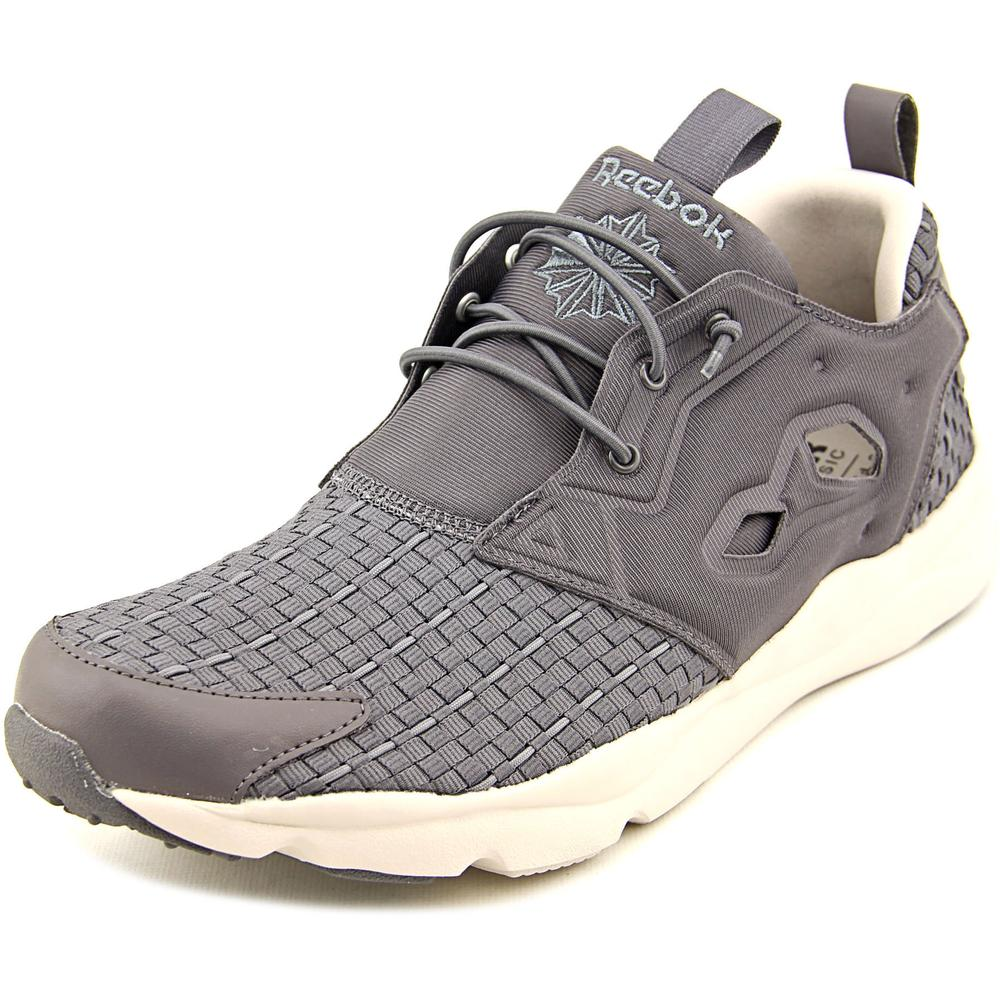 Reebok Furylite New Woven Men Round Toe Canvas Running Shoe by Reebok