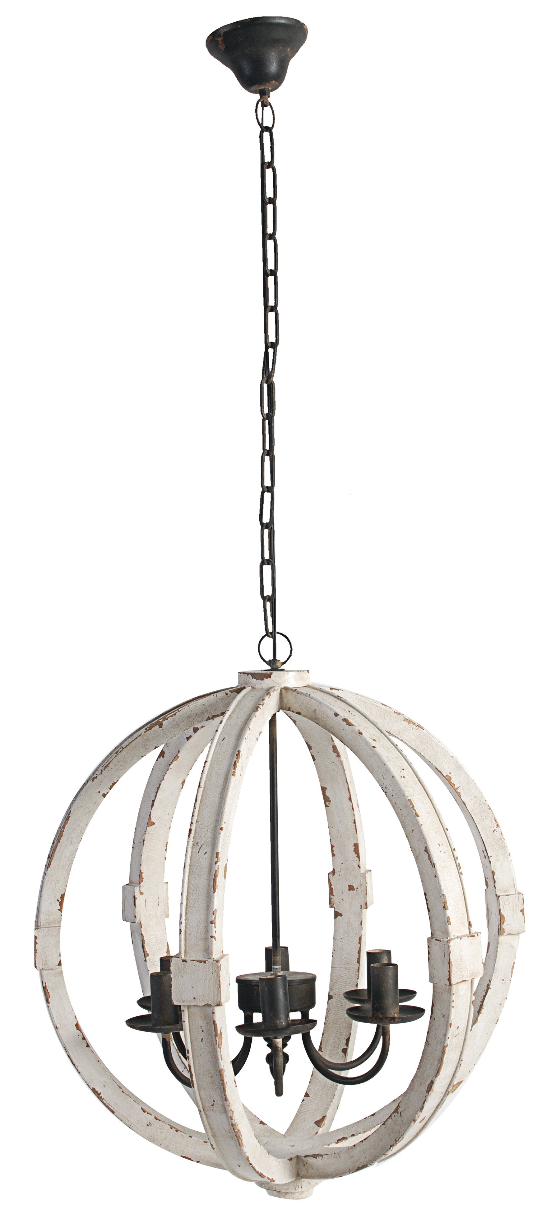 A&B Home Calder Wooden Chandelier, 22.5 by 26-Inch by A&B Home