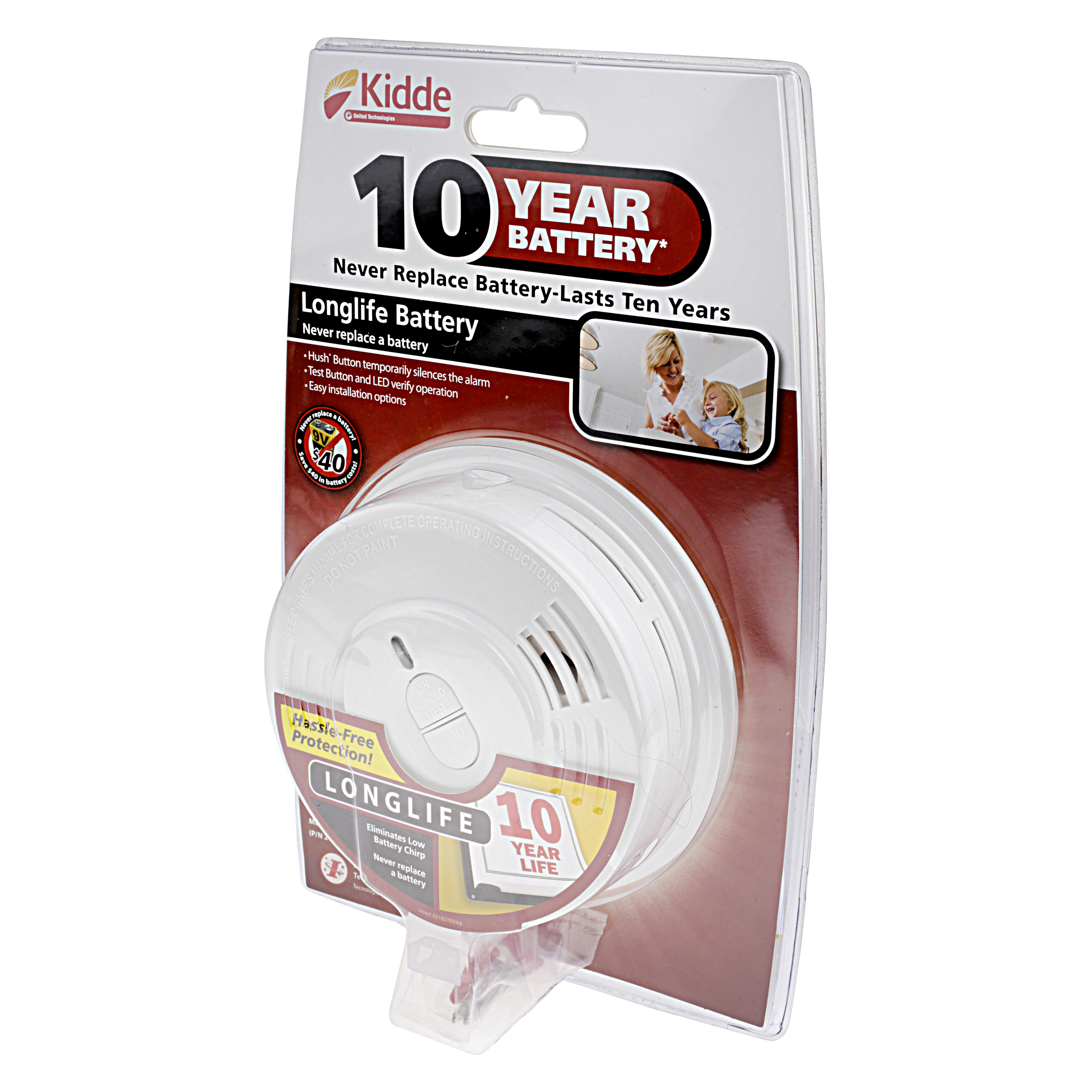 Kidde Sealed Lithium Battery Power Smoke Alarm I9010