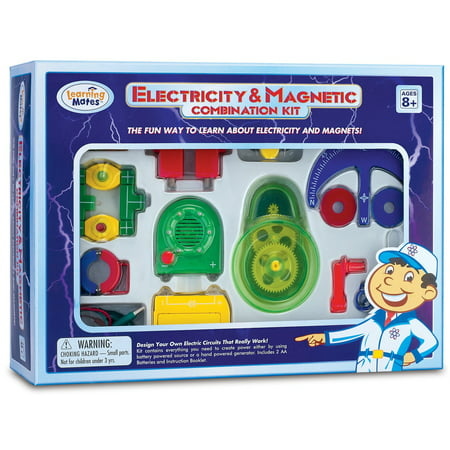 Electricity and Magnetic Combination Kit (Learn Electricity Kit)