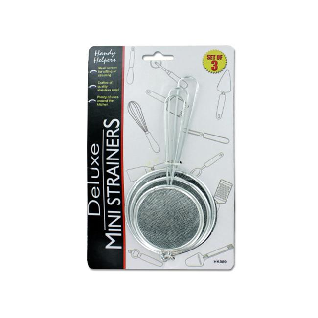 Bulk Buys HK089-12 Small Strainer Set by Bulk Buys