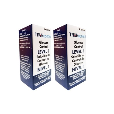 Pigment Control Solution - True Control Glucose Control Solution - Range - Level 1 (2 pack)