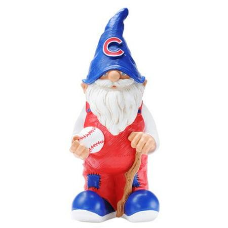 Forever Collectibles Chicago Cubs Team Gnome (Chicago Cubs Garden Gnome)